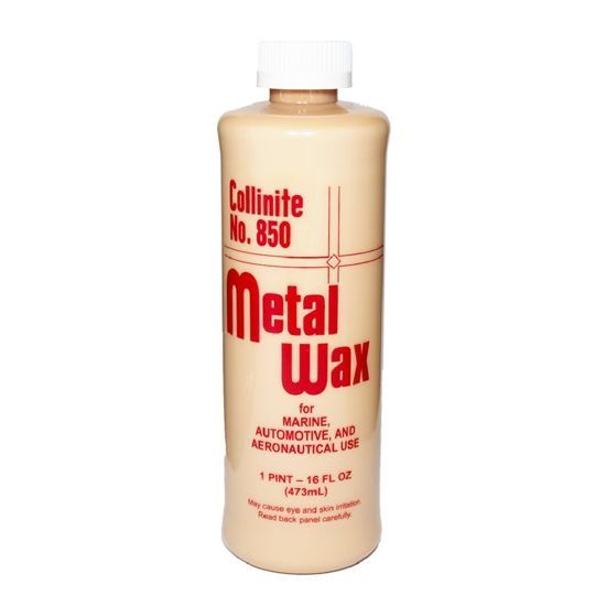 Collinite 850 Metal Wax mleczko do chromu i stali 473ml