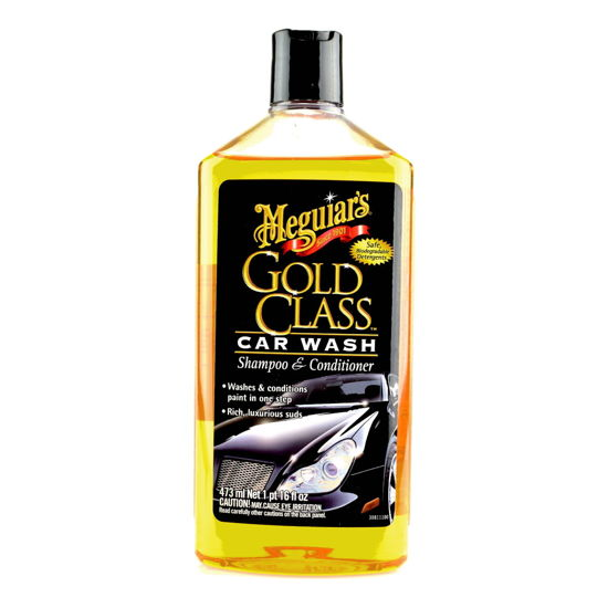 Meguiars Gold Class Car Wash Shampoo & Conditioner - szampon z odżywką 473ml