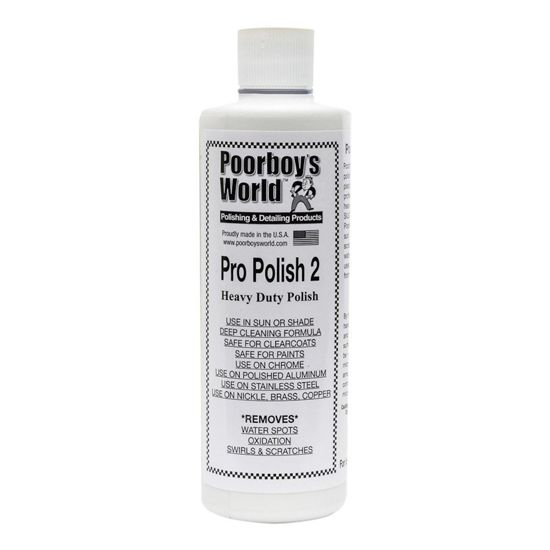 Poorboy's World Pro Polish 2 na zarysownia i hologramy 473ml