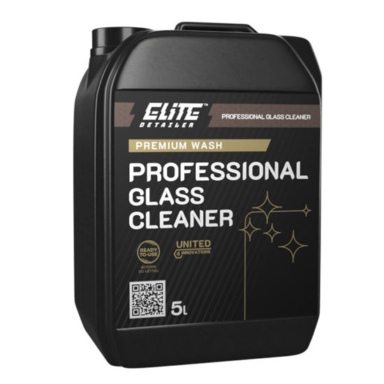 ProElite Professional Glass Cleaner płyn do mycia szyb i luster 5l