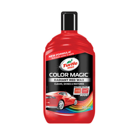 Wosk koloryzujący Czerwony Turtle Wax Color Magic Radiant Red 500 ml
